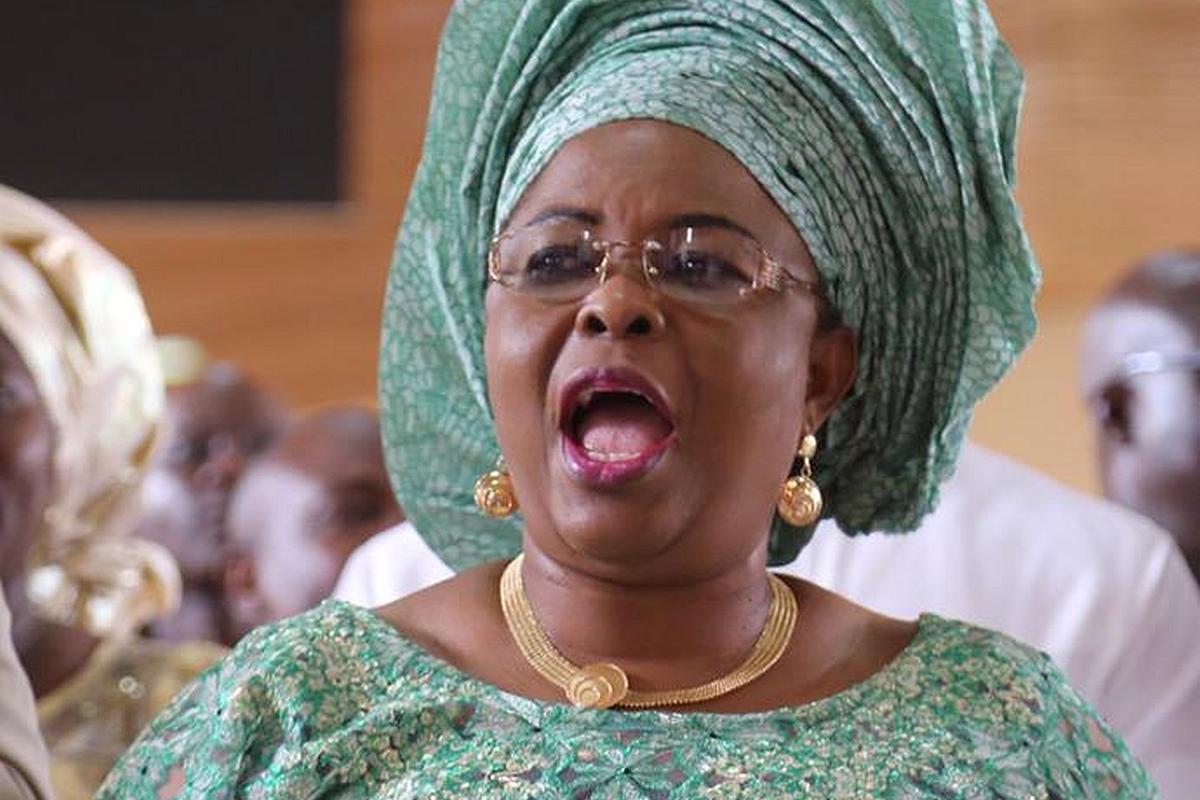 Patience Jonathan debunks allegations of N2.1bn traced to her late mother's account