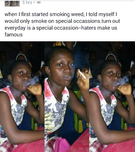 Everyday is a special occasion - Weed smoker