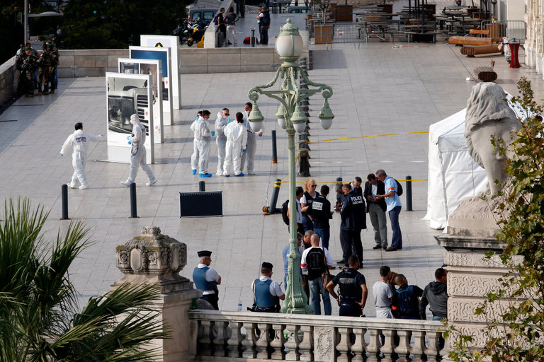 Terrorist stabs 2 women to death at Marseille Train Station
