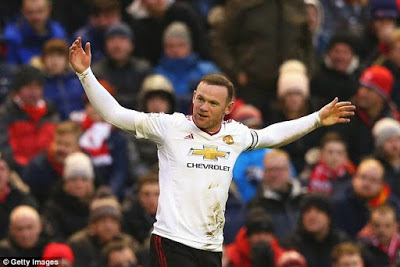 Wayne Rooney breaks an English Premier League Record