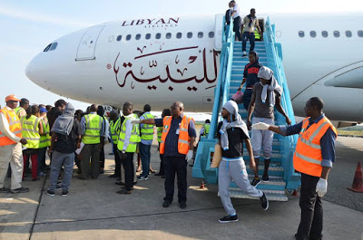 128 Nigerians Deported From Libya Arrives Lagos Airport
