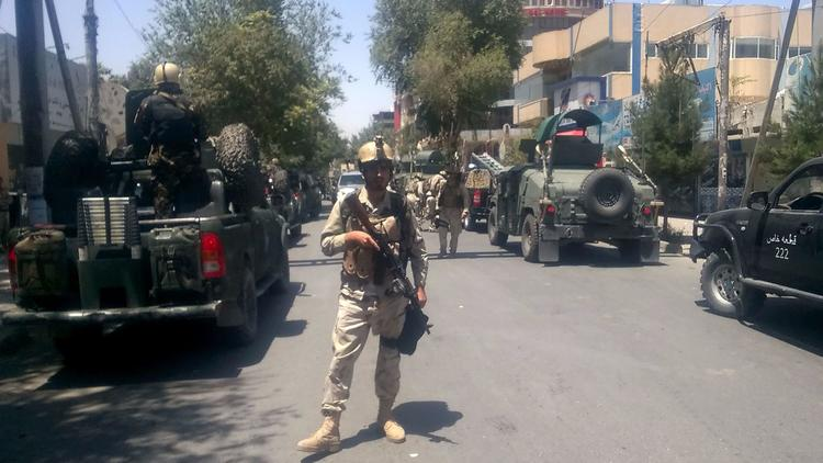 Suicide Bombing At Iraqi Embassy In Kabul
