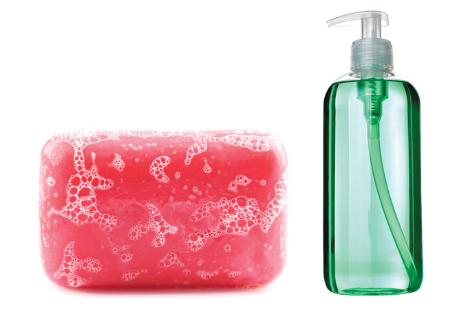 These liquid soap recipe will make you say goodbye to