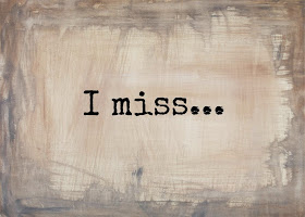 POEM: I MISS By Adedamola Quadri Adeniyi