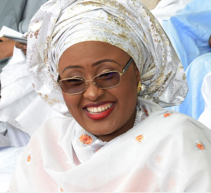 Aisha Buhari Joins PMB In UK