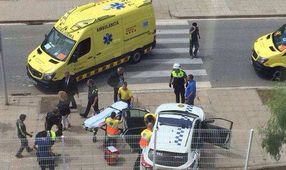 BREAKING: Two police Officers Injured After Shootout In Spain