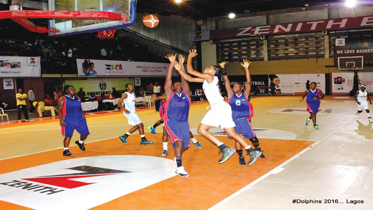 Zenith Bank Women Basketball Enters Ibadan