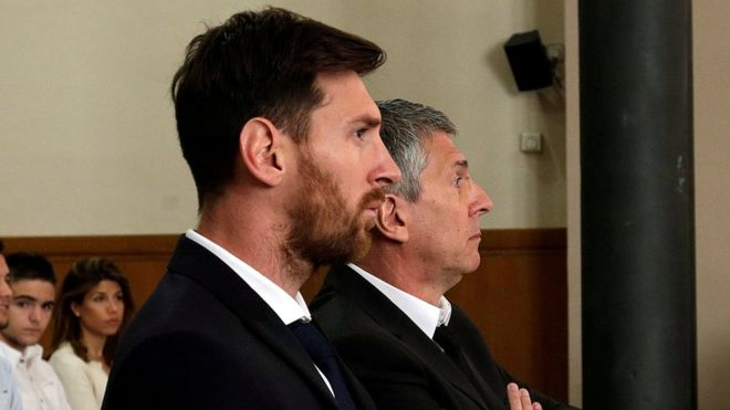 Messi Will Still Go To Jail For Tax Fraud