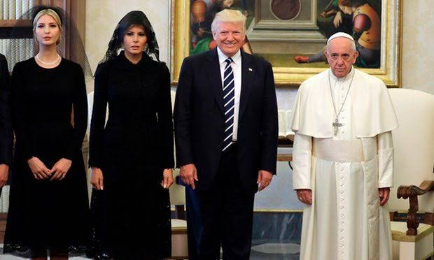 'I won't forget what you said' - Trump Tells Pope Francis