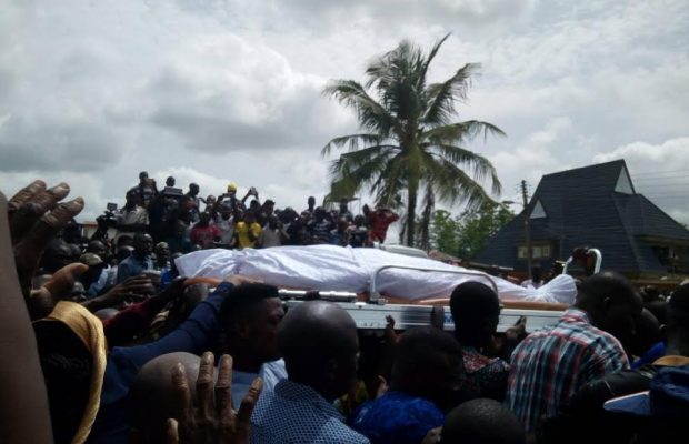 Sen. Adeleke Buried [PHOTOS]
