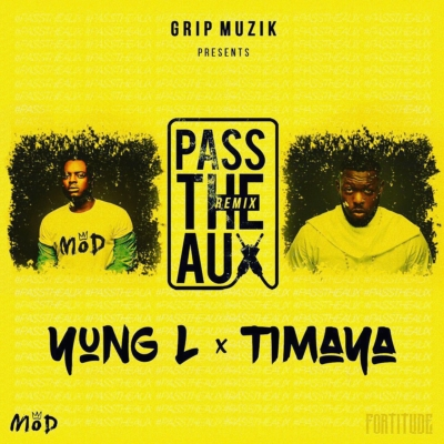 Yung L  -  'Pass The Aux' (Remix) ft. Timaya