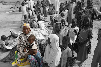Red Cross Report On How Hopeless and hungry mothers in Lake Chad resort to prostitution to feed their children