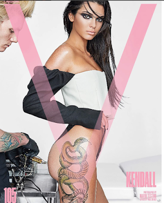 Kendall Jenner in New Photoshoot for V-Magazine