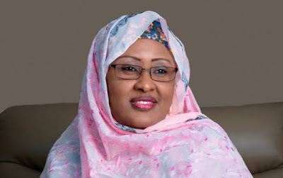 Aisha Buhari reavealing interview on hold due to pressure on BBC Hausa by the President