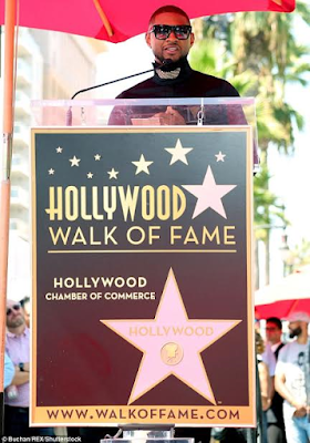 Usher gets a star on the Hollywood Hall of Fame