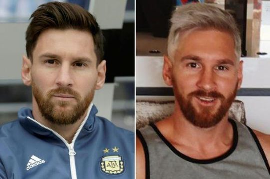 Lionel Messi Explains Why He Dyed His Hair Blonde