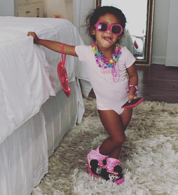 Chris Brown's Daughter Cute in New Photo