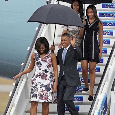 President Obama makes a historic visit to Cuba