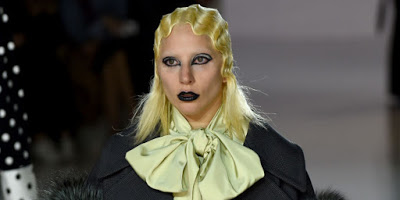 Talk about being ugly, look at these models at Marc Jacobs' New York Fashion Week Show
