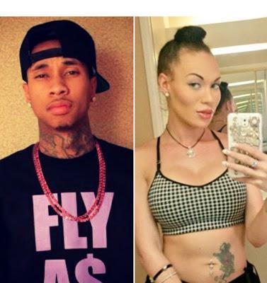 Transgender Mia Isabella still stalking Tyga - Sends a Valentine message to him