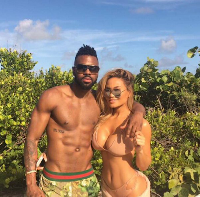 Jason Derulo hangs out with Daphne Joy - 50 Cent's Babymama