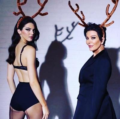 Kendall vs Kris Jenner from Last Christmas