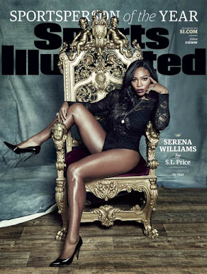 Sports Illustrated's 2015 Sportsperson of the year - Serena Williams