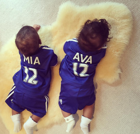 Mikel Obi's Twins are growing so fast