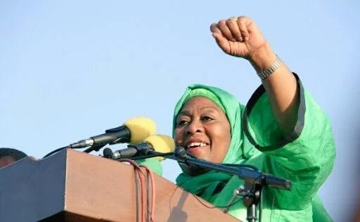 Tanzania gets a female Vice President