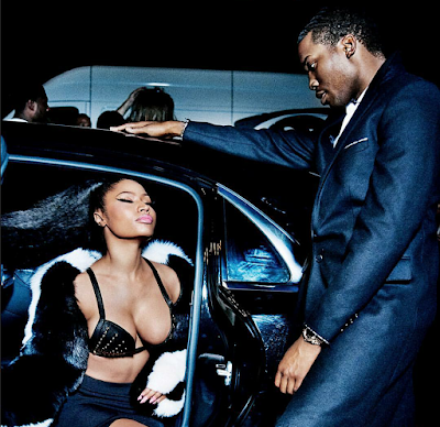 Nicki Minaj and Meek Mill on GQ magazine