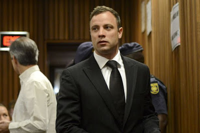 Oscar Pistorius can only move between church and home
