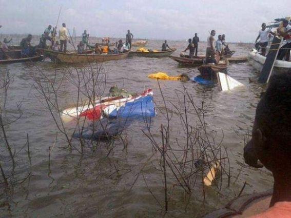 Helicopter Crash kills 4 in Lagos Lagoon