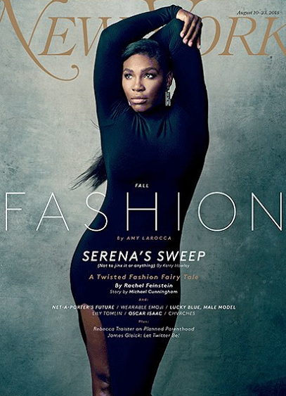 Serena Williams is on the cover of New York magazine