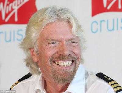 Billionaire Richard Branson reveals some of his wealth secrets - Happiness