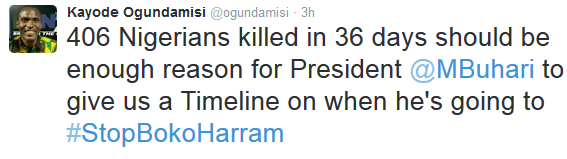Even Buhari supporters are now coming for him for his inaction against Boko Haram