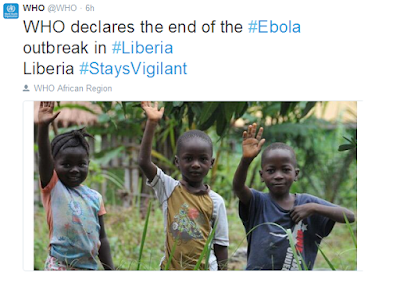 Liberia is officially Ebola Free