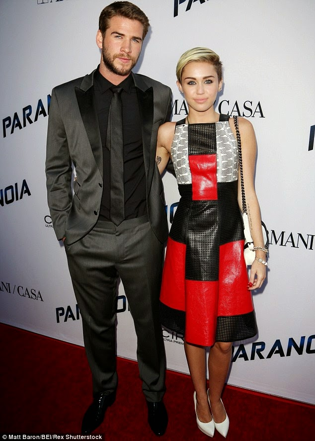 Miley Cyrus spotted with former fiance Liam Hemsworth after split