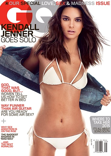 Kendall Jenner covers May issue of GQ magazine