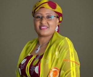 Aisha Buhari finally gets congratulated by mama P
