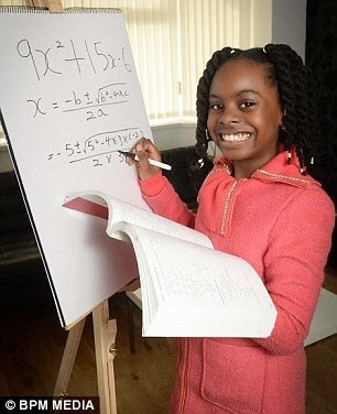 10 Year old Nigerian accepted in a UK University to study maths