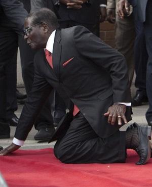 Robert Mugabe fall proves he isn't as strong as he turns 91