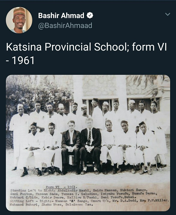 Throwback Picture Of Buhari With 1961 Classmates