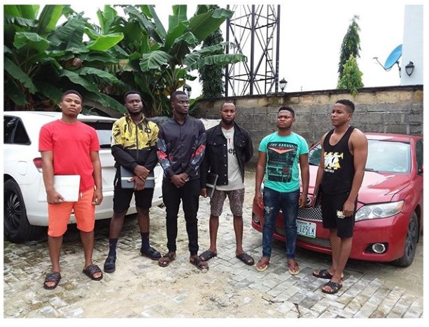 6 Yahoo Boys Arrested In Uyo