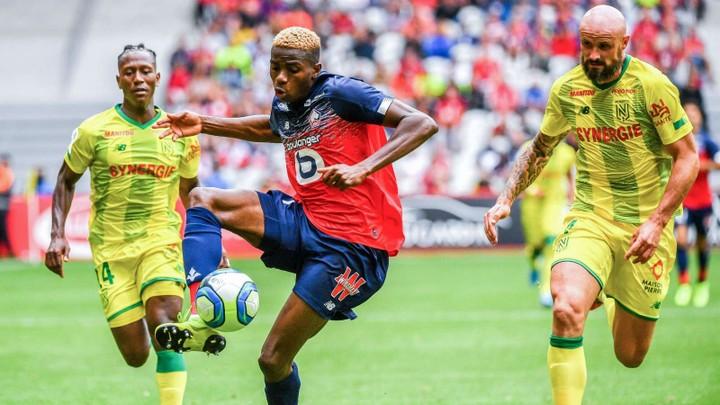 Nigeria Super Eagles Striker, Victor Oshimen Scores 2 Goals On His Debut For Lille