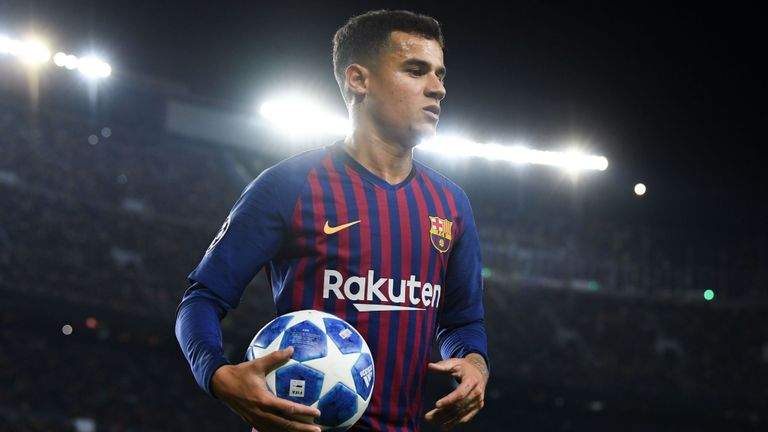 Barcelona Agrees On Terms To Loan Coutinho To Bayern Munich