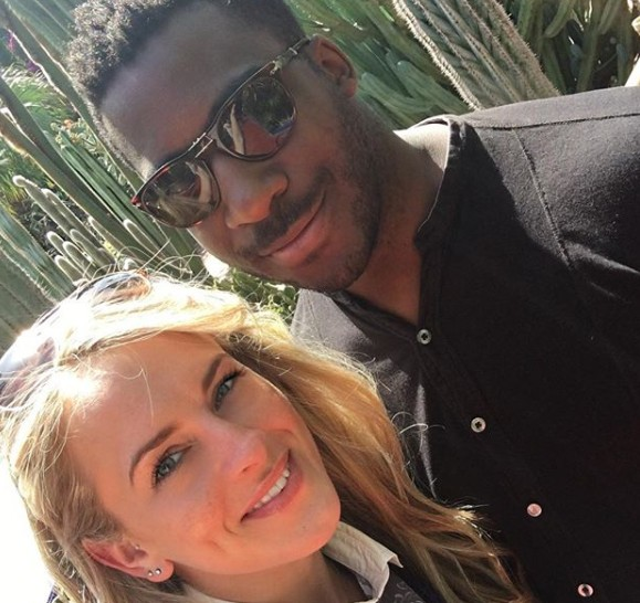 Theophilus Danjuma proposes to a White Lady - See more photos of Louise Green