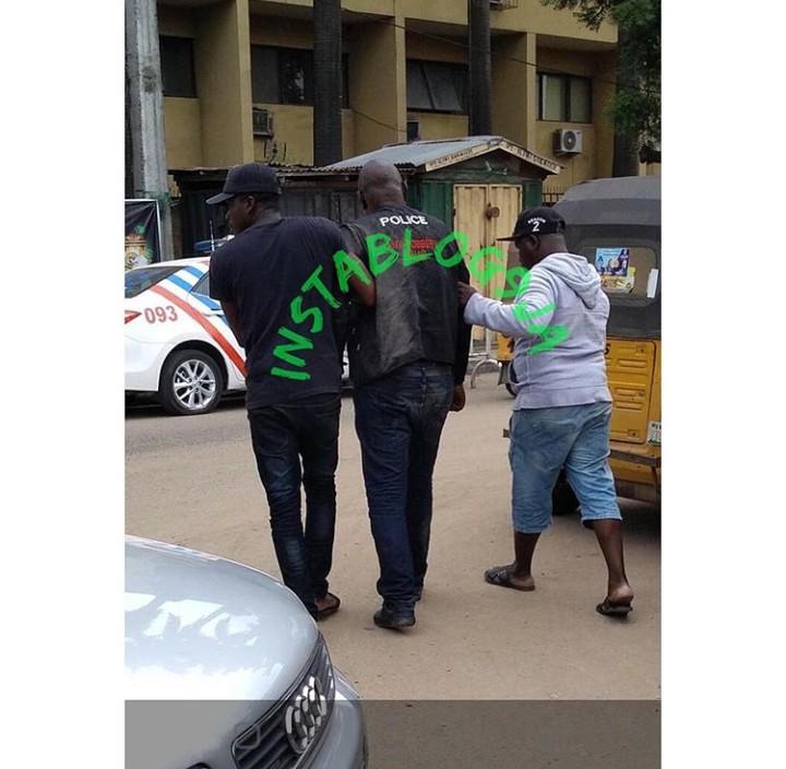 Boy Fights SARS Officer - Knocks Officer Into Coma