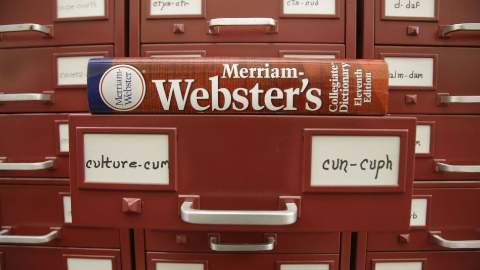 Over 500 New Words Added To The Merriam Webster Dictionary