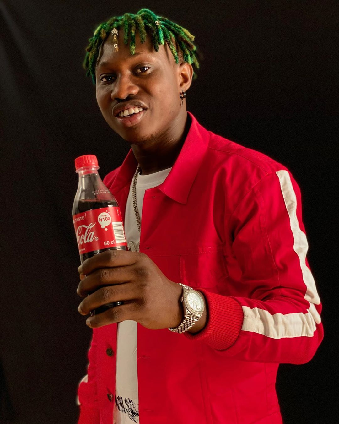 Coca Cola Signs Zlatan Ibile as Latest Ambassador