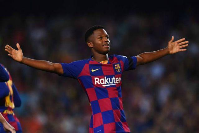 Barcelona Young Star, Ansu Fati Breaks History Again